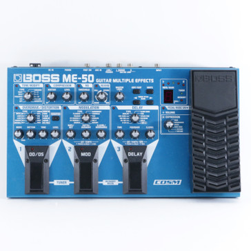 Boss ME-50 Guitar Multi-Effects Pedal P-09303