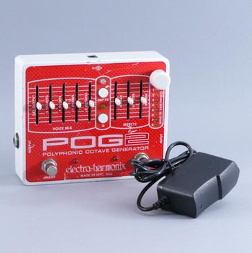 Electro-Harmonix POG 2 Octave Guitar Effects Pedal w/ PSA P-09289