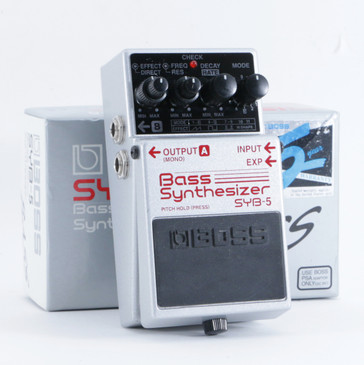 Boss SYB-5 Bass Synthesizer Guitar Effects Pedal P-09324