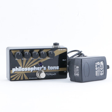 Pigtronix Philosopher's Tone Overdrive Guitar Effects Pedal w/ PSA P-09320