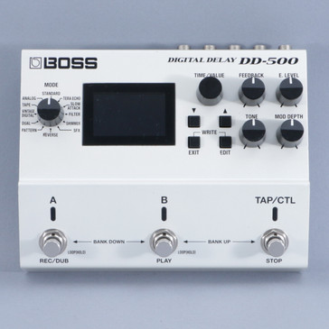 Boss DD-500 Delay Guitar Effects Pedal P-09328