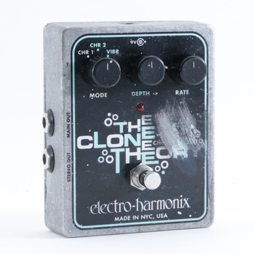 Electro-Harmonix The Clone Theory Chorus Guitar Effects Pedal P-09349