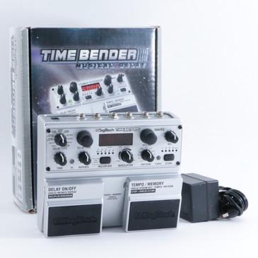 Digitech Time Bender Delay Guitar Effects Pedal w/ PSA P-09373