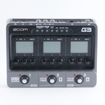 Zoom G3 Guitar Multi-Effects Pedal P-09371