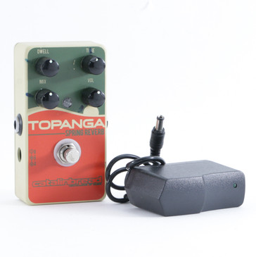 Catalinbread Topanga Reverb Guitar Effects Pedal w/ PSA P-09356