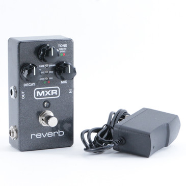 MXR Reverb M300 Guitar Effects Pedal & PSA P-09355