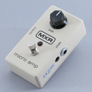 MXR Micro Amp Volume Boost Guitar Effects Pedal P-09391