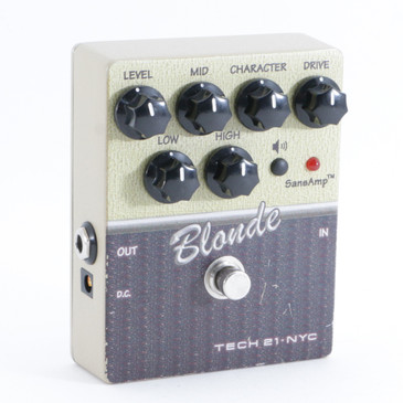 Tech 21 V2 Blonde Overdrive Guitar Effects Pedal P-09401