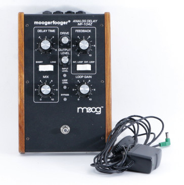 Moog MF-104Z Moogerfooger Delay Guitar Effects Pedal w/ PSA P-09420