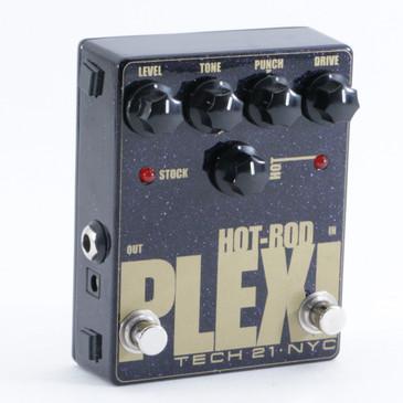 Tech 21 Hot-Rod Plexi Overdrive Guitar Effects Pedal P-09400