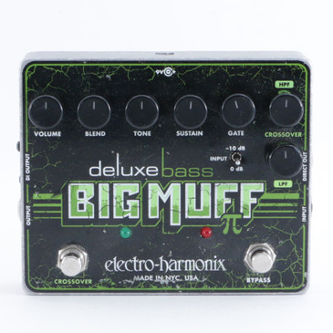 Electro-Harmonix Deluxe Bass Big Muff Pi Fuzz Guitar Effects Pedal P-09409