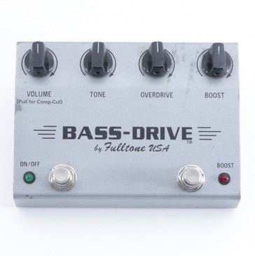 Fulltone Bass-Drive Overdrive Guitar Effects Pedal P-09408