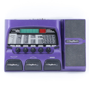 Digitech Vocal 300 Vocal Multi-Effects Pedal *No Power Supply* P-09455