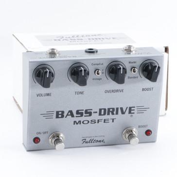 Fulltone Bass-Drive Mosfet Overdrive Bass Effects Pedal P-09443