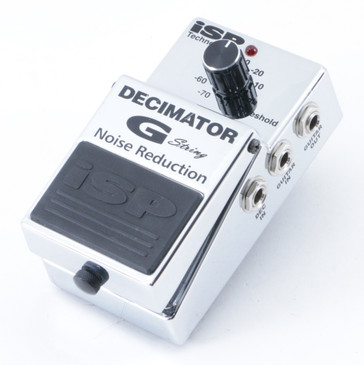 iSP Decimator G String Noise Gate Guitar Effects Pedal P-09435