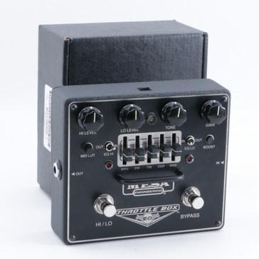 Mesa Throttle Box EQ Overdrive Guitar Effects Pedal P-09444
