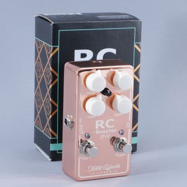 Xotic Effects RC-Booster SH Clean Boost Guitar Effects Pedal P-09484