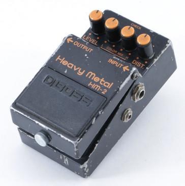 1983 Boss Japan HM-2 Heavy Metal Distortion Guitar Effects Pedal P-09464