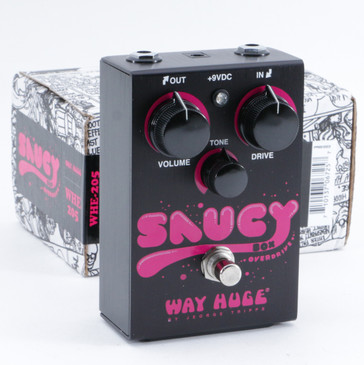 Way Huge Saucy Box Overdrive Guitar Effects Pedal P-09488