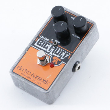 Electro-Harmonix OpAmp Big Muff Pi Fuzz Guitar Effects Pedal P-09478
