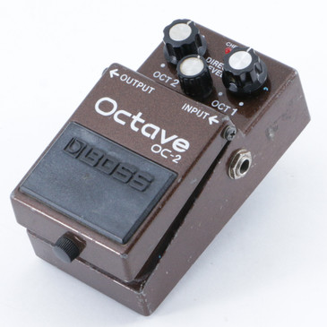Boss OC-2 Octave Pitch Shifter Guitar Effects Pedal P-09467
