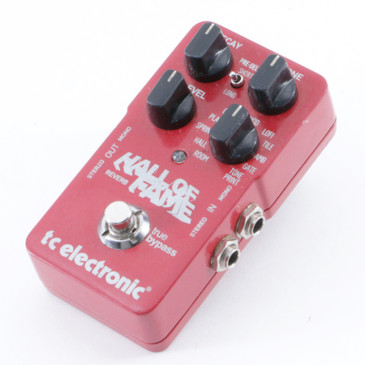 TC Electronic Hall of Fame Reverb Guitar Effects Pedal P-09482