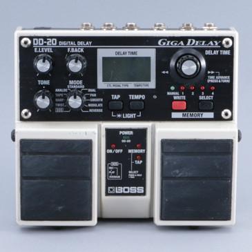 Boss DD-20 Giga Delay Guitar Effects Pedal P-09491