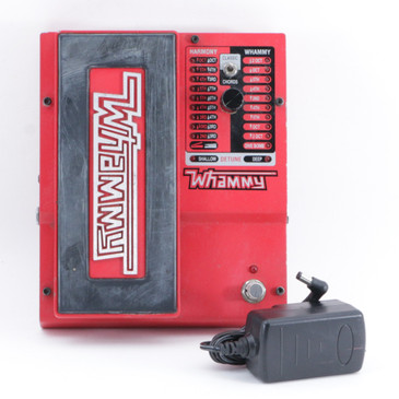 Digitech Whammy 5 Pitch Shifter Guitar Effects Pedal w/ PSA P-09500