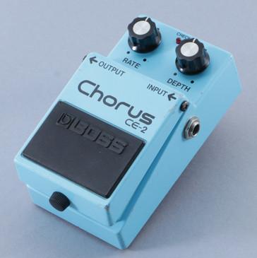 1983 Boss Japan CE-2 Chorus Guitar Effects Pedal P-09465
