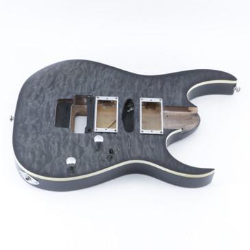 2006 Ibanez RG4EX1 Transparent Gray Burst Basswood Guitar Body BD-5245