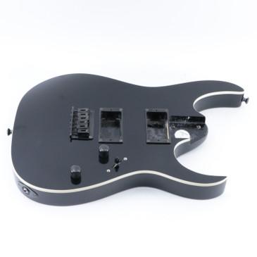 2009 Ibanez RG2EX1 Black Basswood Guitar Body w/ Bridge BD-5244