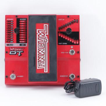 Digitech Whammy DT Pitch Shifter Guitar Effects Pedal w/ PSA P-09540