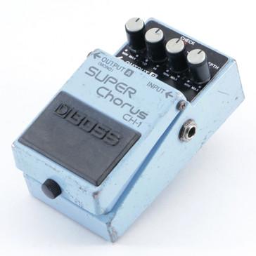 Boss CH-1 Super Chorus Guitar Effects Pedal P-09510