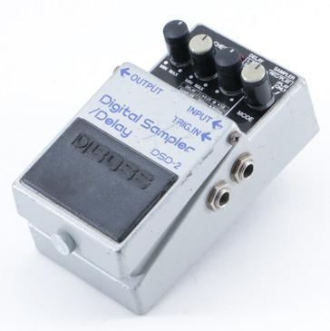 1985 Boss Japan DSD-2 Digital Sampler / Delay Guitar Effects Pedal P-09509