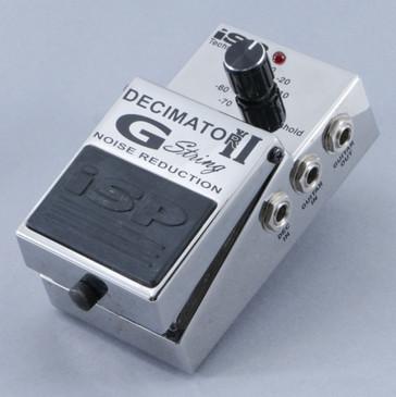 iSP Decimator II G String Noise Gate Guitar Effects Pedal P-09533