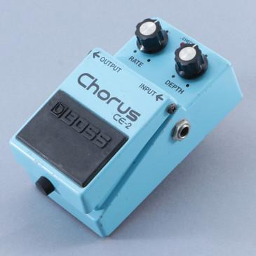 1981 Boss Japan CE-2 Chorus Guitar Effects Pedal P-09508