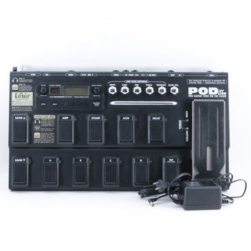 Line 6 Pod XT Live Guitar Multi-Effects Pedal & Power Supply P-09542