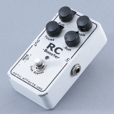 Xotic Effects RC-Booster Overdrive Guitar Effects Pedal P-09516
