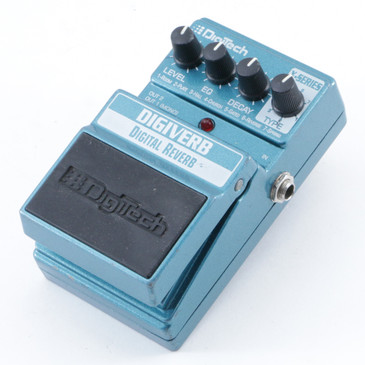 Digitech Digiverb Reverb Guitar Effects Pedal P-09531