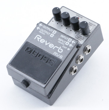 Boss RV-6 Reverb Guitar Effects Pedal P-09506