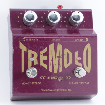 Dunlop TS-1 Stereo Tremolo Guitar Effects Pedal P-09681