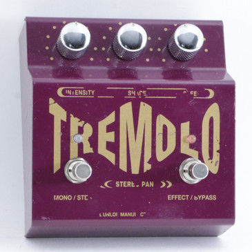 Dunlop TS-1 Stereo Tremolo Guitar Effects Pedal P-09737