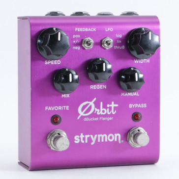 Strymon Orbit Flanger Guitar Effects Pedal P-09782