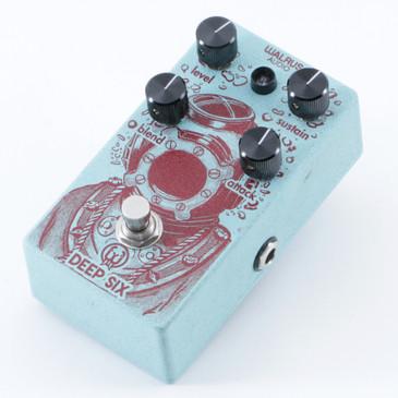 Walrus Audio Deep Six Compression Guitar Effects Pedal P-09876