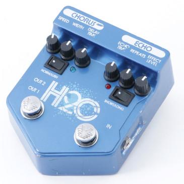Visual Sound H2O Chorus & Delay V2 Guitar Effects Pedal P-09919