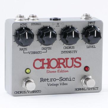 Retro-Sonic Chorus (Stereo Edition) Guitar Effects Pedal P-09964