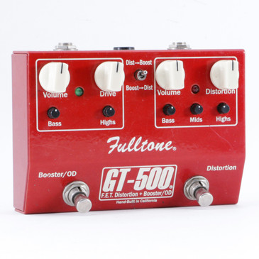 Fulltone GT-500 Distortion Guitar Effects Pedal P-09999