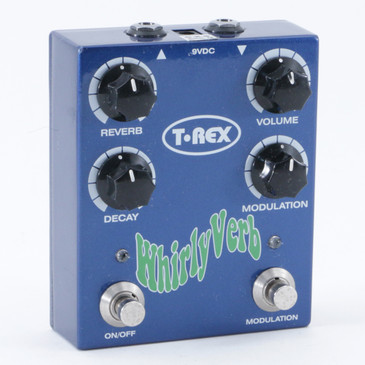 T-Rex Whirly Verb Reverb Guitar Effects Pedal P-09997