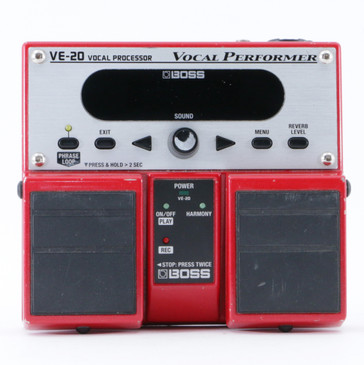 Boss VE-20 Vocal Performer  Vocal Multi-Effects Pedal P-10016