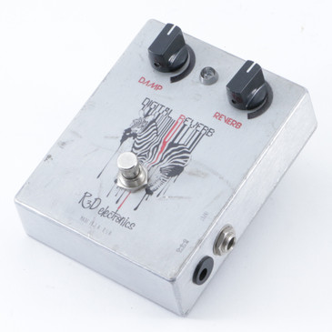 R&D Digital Reverb Guitar Effects Pedal P-10050